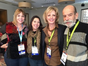NMSHA Board Members attend ASHA Convention, November 2016.  Shelly Kastler-Davis, Krista Claflin, Sandra Nettleton, and Michael Kaplan